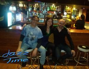 Cristina Mora, Ander Garcia y Jorge Grimaldos