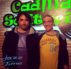 Mikel Azpiroz y Jorge Grimaldos