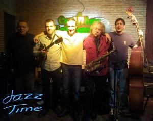 Paul Stocker band y Jorge Grimaldos