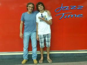 Antonio Lizana y Jorge Grimaldos