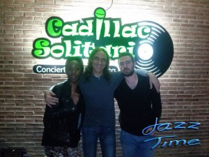 Biselé, Miguel Gil y Jorge Grimaldos