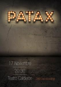 Patáx Teatro Calderón
